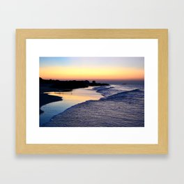 Beach V Framed Art Print