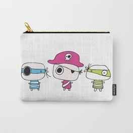 Three Pastelly Pirates Carry-All Pouch