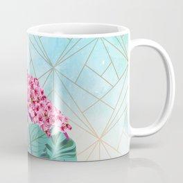 Flamingo Roses Coffee Mug