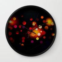dots Wall Clocks featuring Dots by haroulita