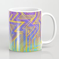 tron Mugs featuring Tron-ish by Roberlan Borges