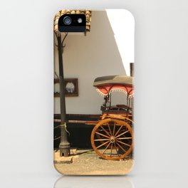 Sri Lanka, Galle - Old Rickshaw iPhone Case