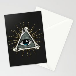All seeing eye of God Stationery Cards