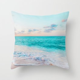 Ocean Bliss #society6 #society6artprint #buyart Throw Pillow