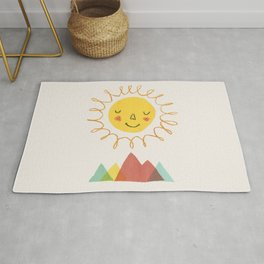Sunny - Let's go outside Rug