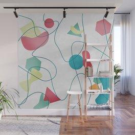Geometric Miró Pattern Wall Mural