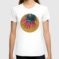 heels T-shirts featuring HEAD OVER HEELS by INA FineArt