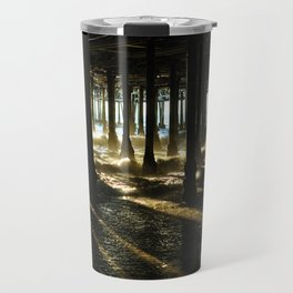 Santa Monica Sunset Travel Mug