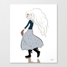 Lilith. Canvas Print