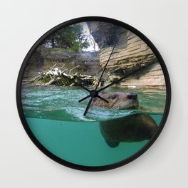 Otter you up to? Wall Clock