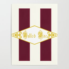 Mulled Wine Antique Poster