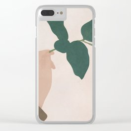 Holding the Branch Clear iPhone Case