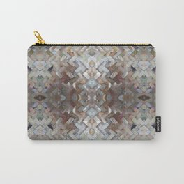 Nacrous Modern Pattern Carry-All Pouch