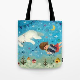 Travel the night sky Tote Bag