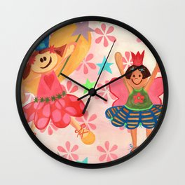 My Ballerinas Wall Clock