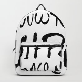Different Does Not Mean Wrong Backpack