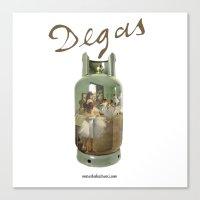 degas Canvas Prints featuring Edgar Degas by Marco Balestrucci