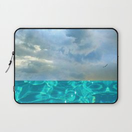 seascape 006: solo flight over swimming pool Laptop Sleeve