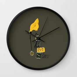 No time to waste Wall Clock