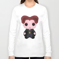 hocus pocus Long Sleeve T-shirts featuring Hocus Pocus Winifred by SpaceWaffle