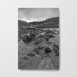 St Agnes From The Sea Metal Print