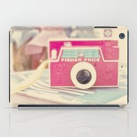 camera iPad Cases featuring Camera by Angie Ravelo Art & Photography