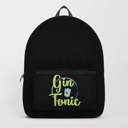 Gin & Tonic | Alcohol Longdrink Gift Idea Backpack