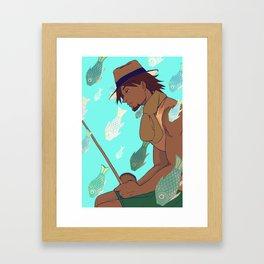 Shell Oji Framed Art Print