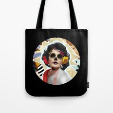 Golden Elizabeth Taylor (Sugar Skull Variant)  By Zabu Stewart Tote Bag