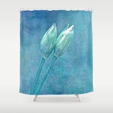 wild garlic Shower Curtain