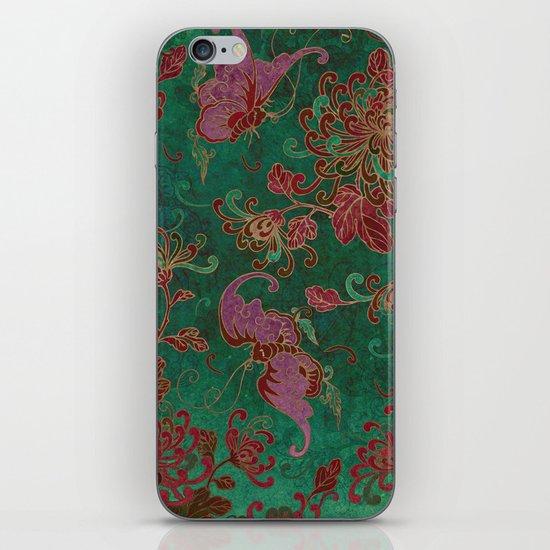 Chrysanthemum Garden iPhone & iPod Skin