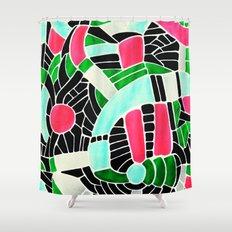 - summer seaforest - Shower Curtain
