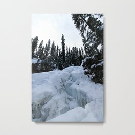 this world is not a cold, dead place Metal Print