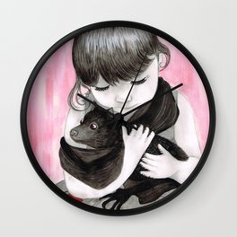 Strange Love Wall Clock