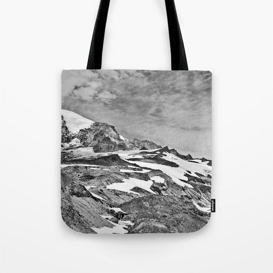 Rugged Mountain Hike Tote Bag