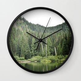 Burnt Lake, Oregon Wall Clock