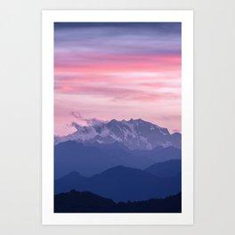 Monte Rosa Art Print