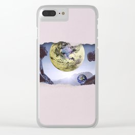 Untimely Ripped Voyeur Views: The World is in Our Hands Clear iPhone Case