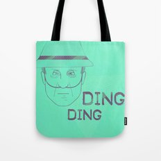 Breaking Bad - Faces - Hector Salamanca Tote Bag