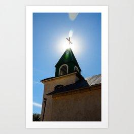 Church Light Art Print