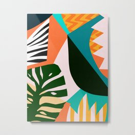 Tropical pattern IV Metal Print