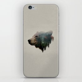 The Pacific Northwest Black Bear iPhone Skin