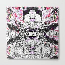 Bulldog Abstract Metal Print