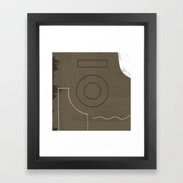 Branded Abstract 11 Framed Art Print