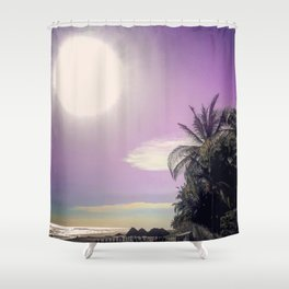 Bright Giant Shower Curtain