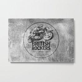 British Rockers 1967 Metal Print