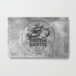 British Rockers 1967 Metal Print