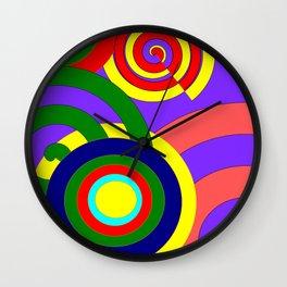 Centerfold Wall Clock