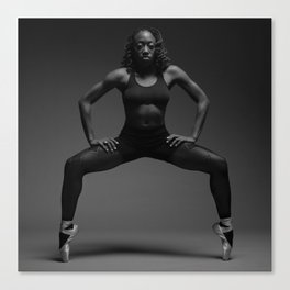 The Dancer (Strength and Form). Canvas Print