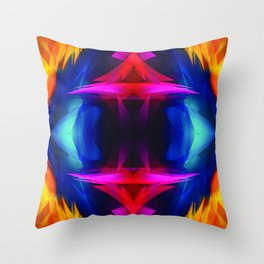 Abstract 001 Throw Pillow